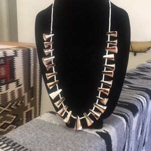 Jewelry - Tribal conical shell necklace.